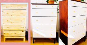 Turn An Ordinary IKEA Dresser Into Mid-Century Modern
