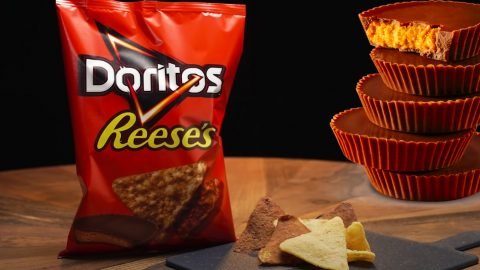 Reese's Peanut Butter Cup Doritos Recipe | DIY Joy Projects and Crafts Ideas