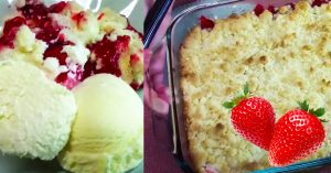 Strawberry Cheesecake Dump Cake Recipe