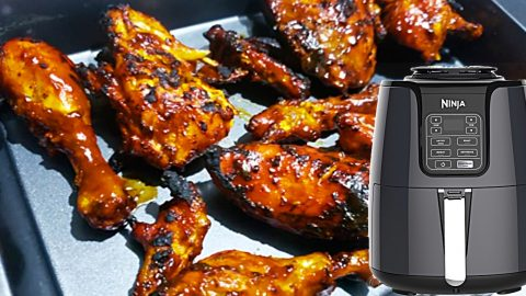 Air Fryer Barbecue Chicken Recipe | DIY Joy Projects and Crafts Ideas