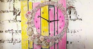 How To Make A Cardboard Clock