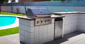 How To Build A Cinder Block BBQ Pit Cooking Area
