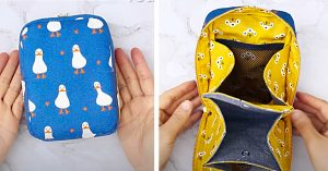 How To Sew A Multi-Pocket Zipper Pouch