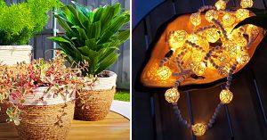 Dollar Tree Outdoor DIY Patio Ideas