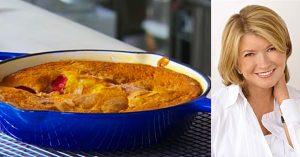 Martha Stewart's Cast-Iron Skillet Fruitcake Recipe