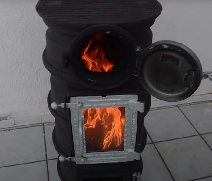 DIY Tire Rim Stove - Cool Things for Guys to Make - Creative Fire Pit Ideas - Used Car Parts DIYs