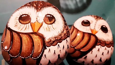 How To Paint Owl Rocks   DIY Joy Projects and Crafts Ideas