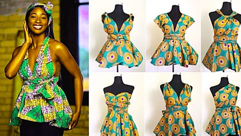How To Sew An Infinity Peplum Top | DIY Joy Projects and Crafts Ideas