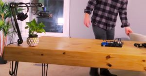 DIY Desk For Less Than $100