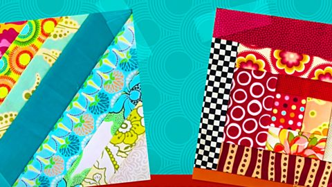 How To Make 2 Kinds Of Quilt-As-You-Go Blocks | DIY Joy Projects and Crafts Ideas