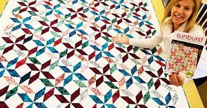 How To Make A Sunburst Quilt With Donna Jordan