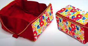 How To Sew An Open Wide Zipper Pouch