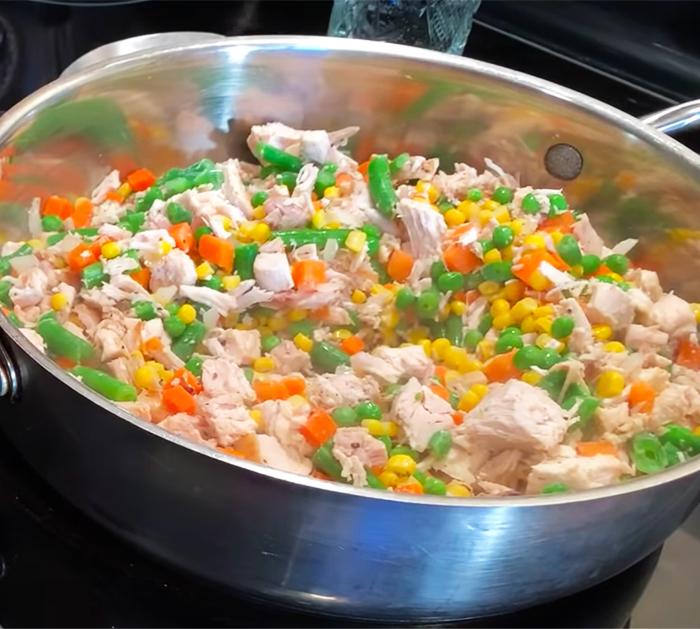 Chicken Pot Pie Recipe | Homemade Recipes
