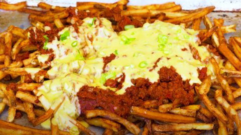 Chili Cheese Fries Recipe | DIY Joy Projects and Crafts Ideas