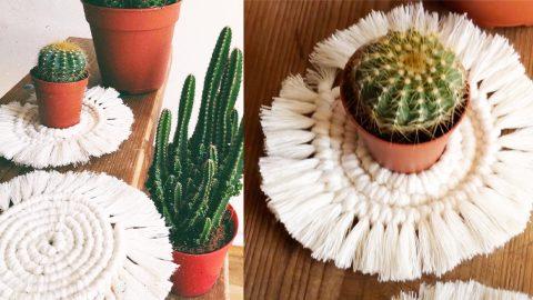 DIY Macrame Coasters   DIY Joy Projects and Crafts Ideas