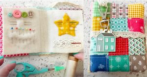 How To Make A Needle Book With Pockets