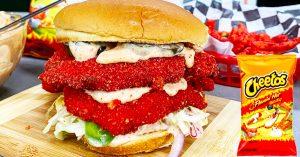Flamin' Hot Cheetos Chicken Sandwich Recipe