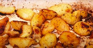Greek Lemon Potato Recipe