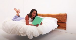How To Make A Floating Bed