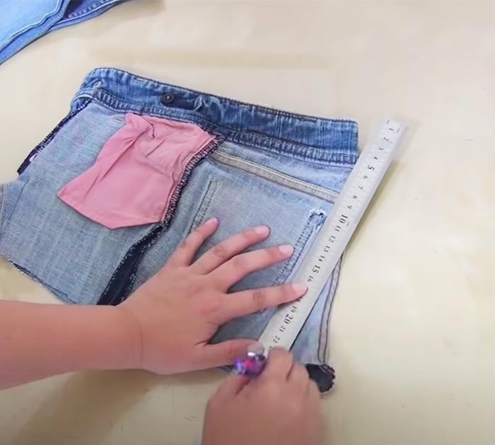 How To Make Boho Jeans Bag   DIY Sewing