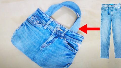 How To Make Boho Jeans Bag   DIY Joy Projects and Crafts Ideas