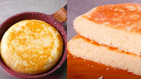 How To Make Bread In A Frying Pan | DIY Joy Projects and Crafts Ideas
