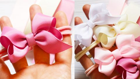 How To Make Simple Ribbon Bows | DIY Joy Projects and Crafts Ideas