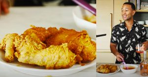 John Legend's Fried Chicken With Spicy Honey Butter Recipe