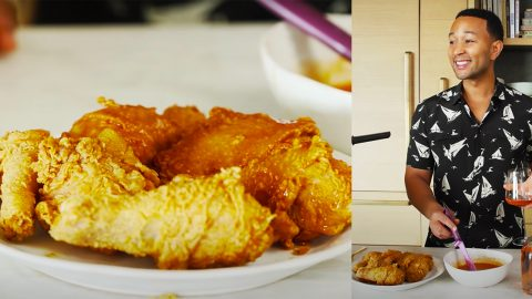 John Legend's Fried Chicken With Spicy Honey Butter Recipe | DIY Joy Projects and Crafts Ideas