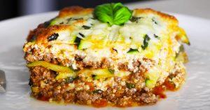 Low-Carb Zucchini Lasagna Recipe