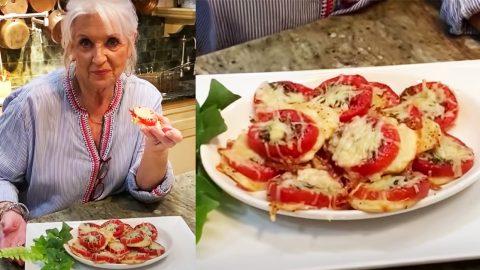 Paula Deen's Tomato Tarts Appetizer Recipe | DIY Joy Projects and Crafts Ideas