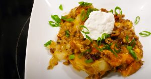 Southern Hamburger And Potato Casserole Recipe