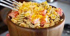 Cajun Ranch and Bacon Pasta Salad Recipe