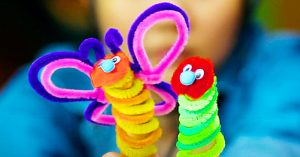 How To Make Hungry Caterpillar Finger Puppets