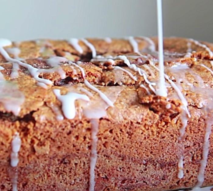 Make A Powdered Sugar Glaze For Cinnamon Sugar Bread