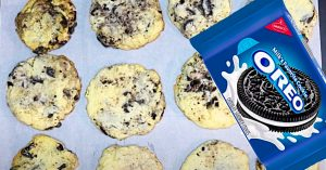 Cookies And Cream Cheesecake Cookies