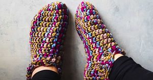 How To Crochet Adult Booties With Free Pattern