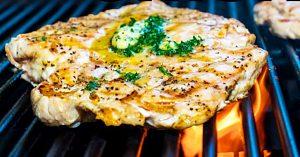 Garlic Butter Grilled Chicken Recipe
