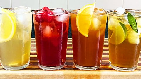 How To Make Iced Tea 4 Ways | DIY Joy Projects and Crafts Ideas