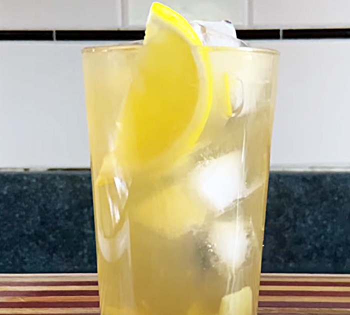 How To Make Green Iced Tea With Ginger And Lemon