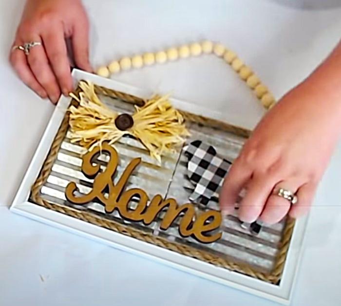 Make DIY Magnets For A Homemade Metal Sign