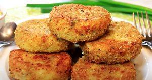 Fried Mashed Potato Cakes Recipe