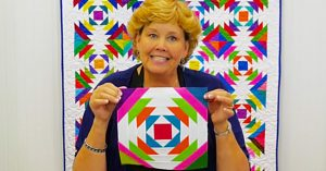 How To Make A Pineapple Quilt With Jenny Doan