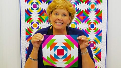 How To Make A Pineapple Quilt With Jenny Doan | DIY Joy Projects and Crafts Ideas
