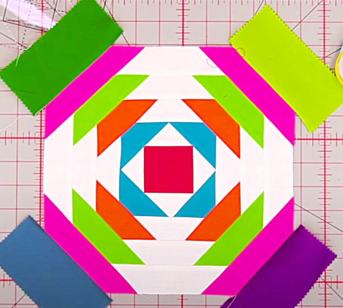 How To Make A Pineapple Quilt Block With Jenny Doan