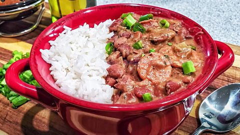 Louisiana Style Red Beans and Rice Recipe | DIY Joy Projects and Crafts Ideas