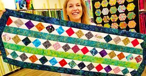 Donna Jordan Scrap Buster Table Runner
