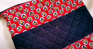 How To Make A Scrappy Quilted Zipper Pouch