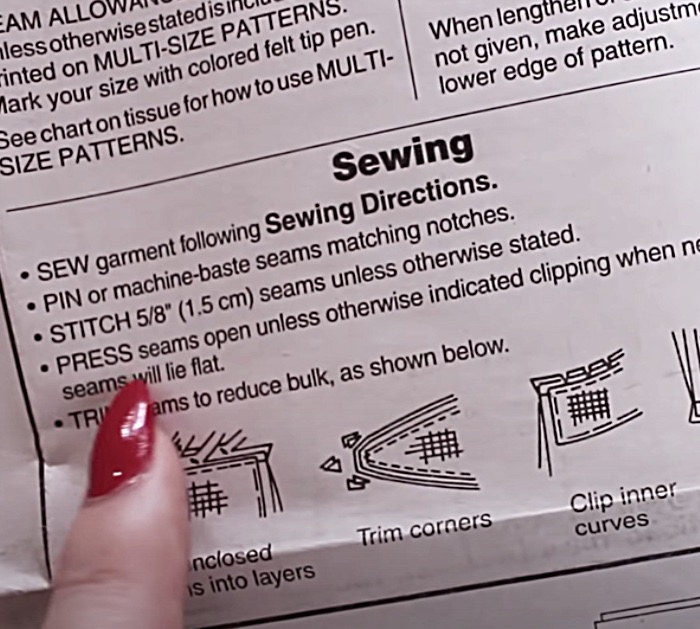 Pressing Your Pattern Pieces Is So Important