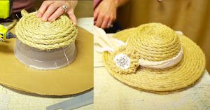 How To Make A Decorative Sisal Rope Hat